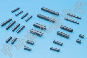 磁棒由内部的磁芯和和外部的包层组成